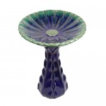 "22"" Solara Bird Bath.  2 pieces"