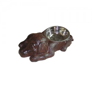 "13"" Cast Iron Dog Bowl.  6 pieces"