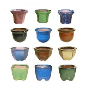 """3"""" Cactus & Bonsai Pot 40pc/cs"""