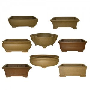 Unglazed Bonsai Pot Assortment