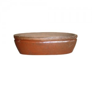 """21"""" Rustic Dresden Oval Tray Planter S/2"""