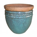 "23"" Rustic Antique Coin Planter S/4"