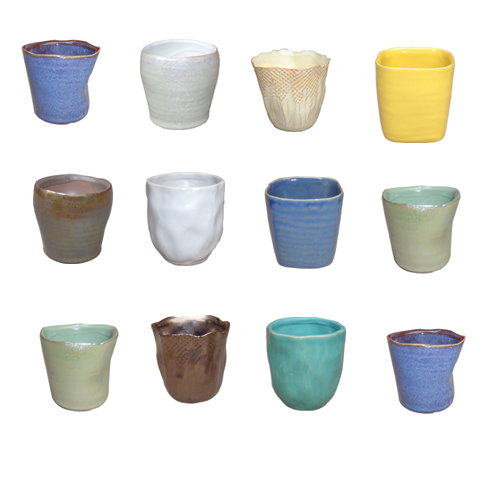 Lotus International » 3″ Selden Miniature Cache Pot Assortment