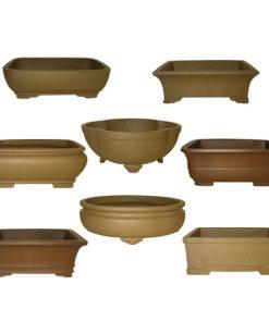 Unglazed Bonsai Pot Assortment